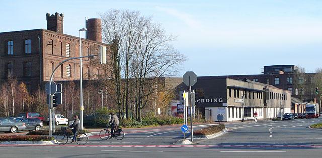 Gebäude Industriestraße 1 (vom Bocholter Stadtring aus fotografiert)