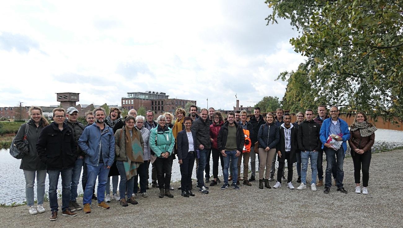 Gruppenfoto Empfang der Gemeinde Doetinchem im LWL-TextilWerk Bocholt