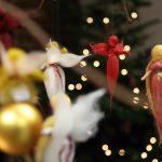 Die Weberei des TextilWerks Bocholt erstrahlt im vorweihnachtlichen Lichterglanz. Foto LWL