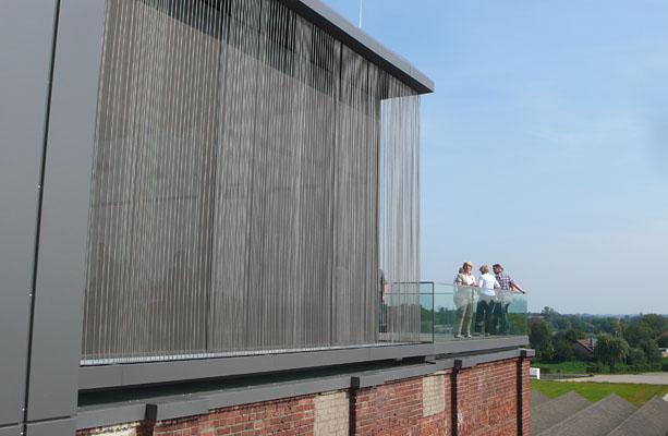 Panorama TextilWerk Dachterrasse