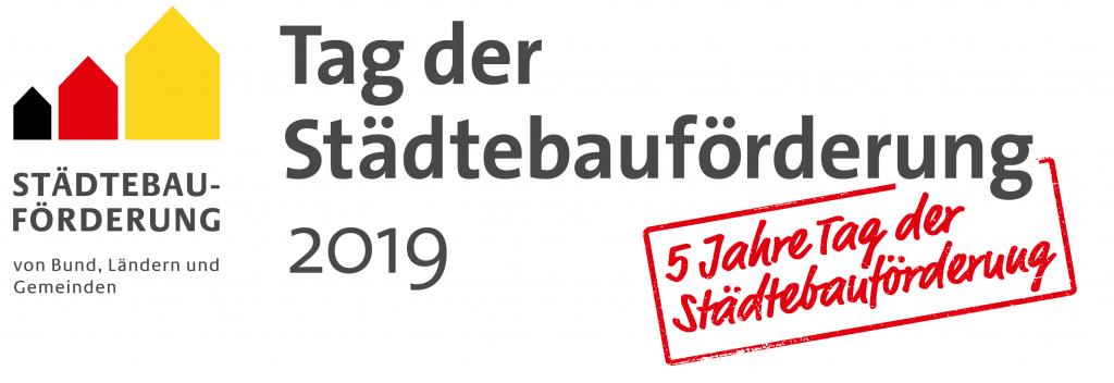 Logo Tag der Städtebauförderung 2019