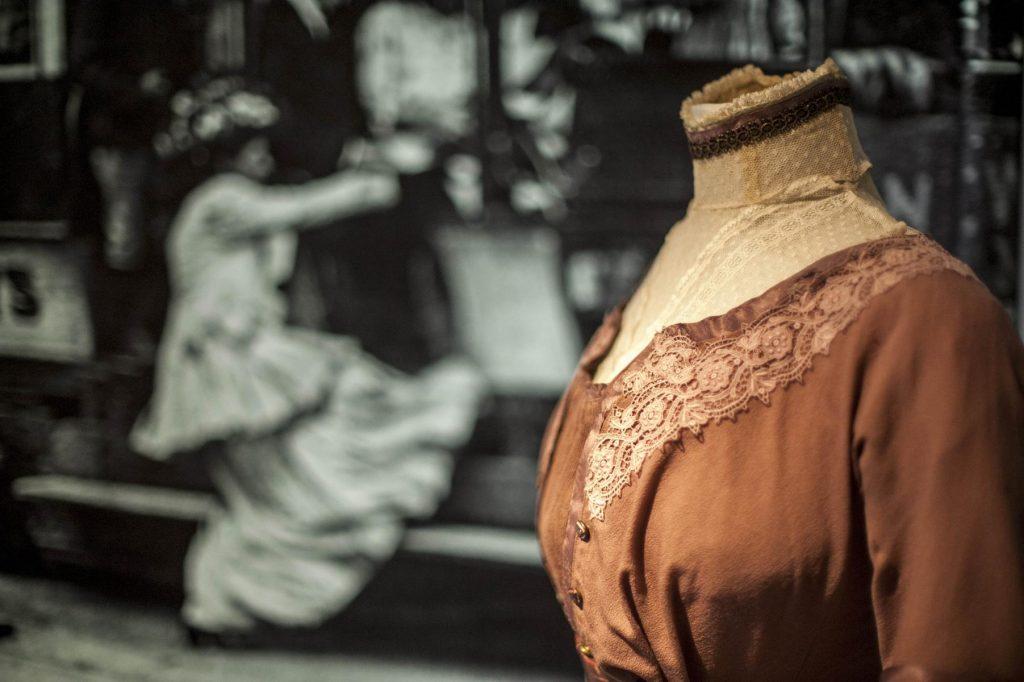 Ausstellung Mode zwischen Kaiserreich, Weltkrieg und Republik - Foto LVR-Industriemuseum