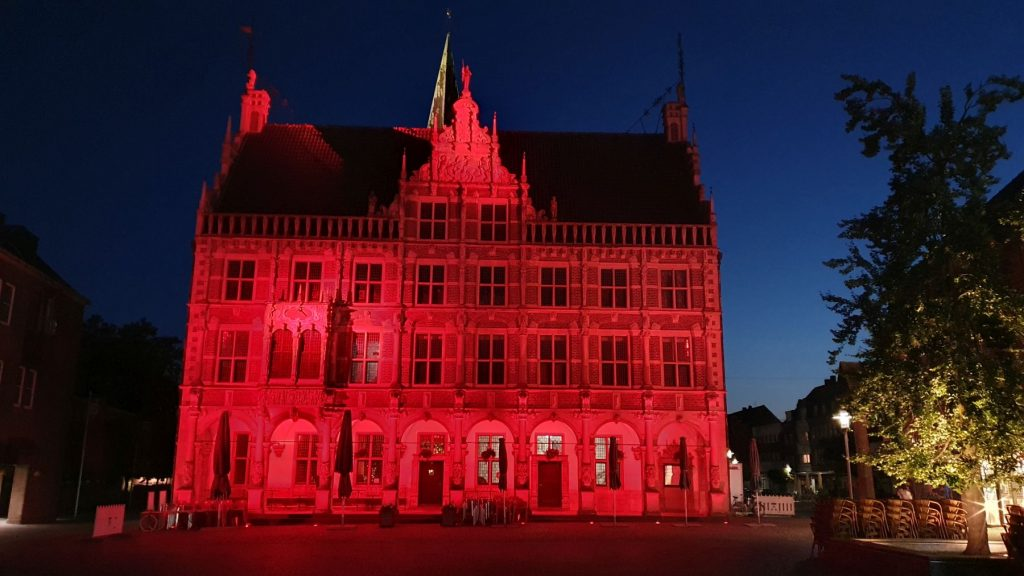 Night of Light - Historisches Rathaus Bocholt